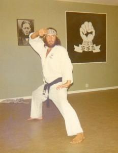 Hanshi De Jong 1973, Hässelby dojo