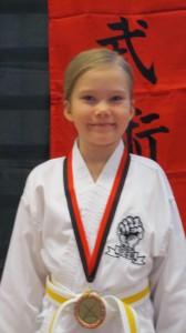 Polly med bronsmedaljen!