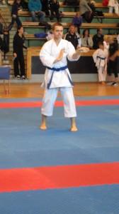 Andrey utför kata Gekisai Dai Ni