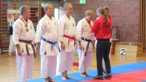 Micke, Olle, Åke och Per blir medaljerade