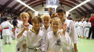 Seinans deltagare på Karate Kid Cup 2011