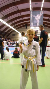 Anton medaljerad