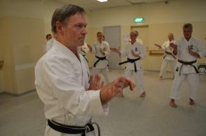 Conny Shihan instruerar
