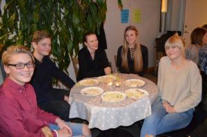 Gustav, John, Camilla, Julia och Vilma