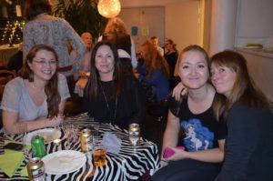 Gunilla, Ellen, Sempai Elena och Mina