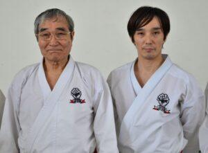 Saiko Shihan och Gohei Shihan.