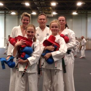 Lyckad kumite-träning för Seinan-gänget!