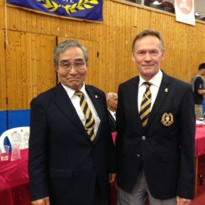 Saiko Shihan Yamaguchi och Conny Shihan.