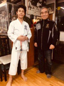 Haydar med Saiko Shihan Yamaguchi